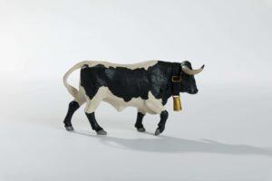 Animales de juguete | Animales de Coleccionismo | Meskebous NUEVO Manso Berrendo en Negro