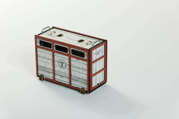 Toril o Cajón | Meskebous NUEVO  Toril o Cajón Blanco-Rojo
