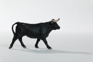 Animales de juguete | Animales de Coleccionismo | Meskebous Vaquilla Negra (SIN cencerro)