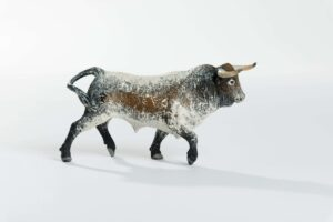 "Animales de juguete | Animales de Coleccionismo | Meskebous ""BOTINERO""    NUEVO Toro Bravo Sardo Capirote Botinero"