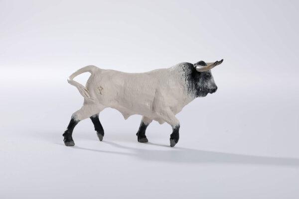 Animales de juguete | Animales de Coleccionismo | Meskebous NUEVO Toro Bravo Ensabanado Capuchino
