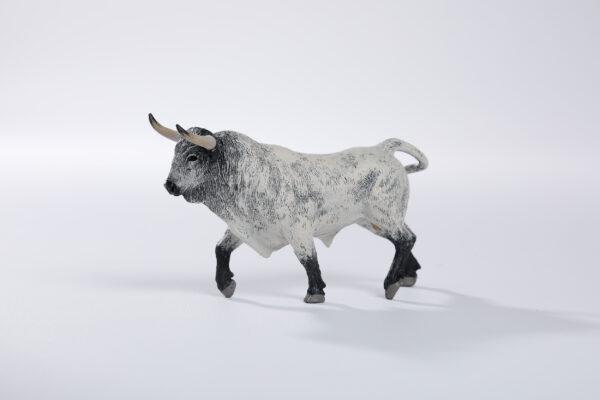 Animales de juguete | Animales de Coleccionismo | Meskebous NUEVO Toro Bravo Ensabanado Careto Bocinegro