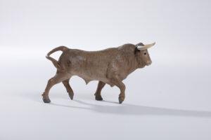 Animales de juguete | Animales de Coleccionismo | Meskebous NUEVO Toro Bravo Melocotón Lavado o Desteñido