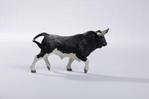 Animales de juguete | Animales de Coleccionismo | Meskebous NUEVO Toro Bravo Nevado Calzón Estrellado