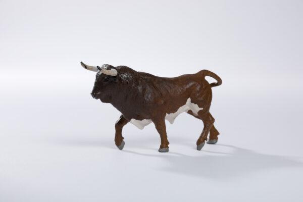 Animales de juguete | Animales de Coleccionismo | Meskebous NUEVO Toro Bravo Tostado Bragado Corrido