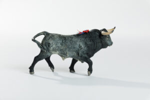 Animales de juguete | Animales de Coleccionismo | Meskebous Toro Bravo Cobradiezmos