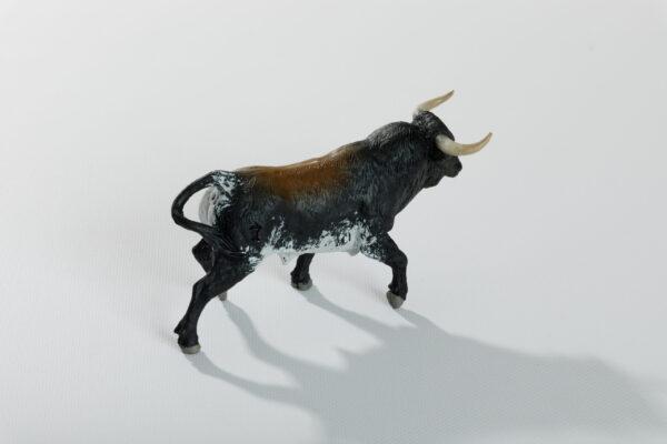 Animales de juguete | Animales de Coleccionismo | Meskebous Toro Bravo Sardo Oscuro Listón
