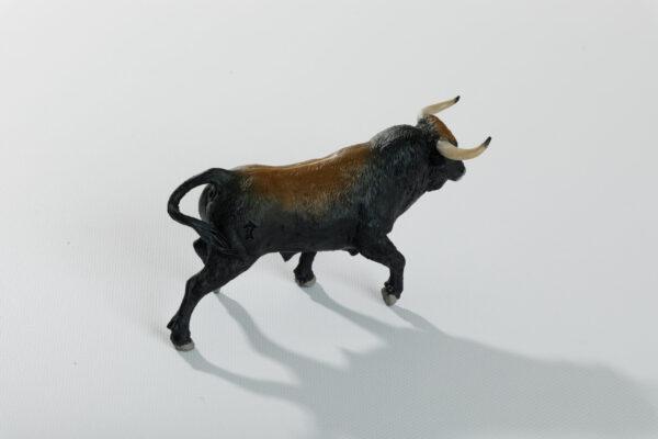 Animales de juguete   Animales de Coleccionismo   Meskebous Toro Bravo Castaño Listón