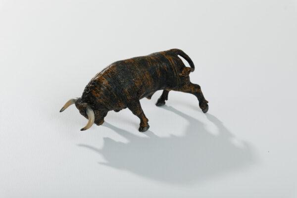 Animales de juguete | Animales de Coleccionismo | Meskebous Toro Embistiendo Chorreado