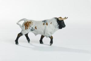 Animales de juguete | Animales de Coleccionismo | Meskebous Toro Bravo Sardo Claro