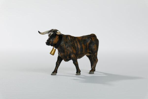Animales de juguete | Animales de Coleccionismo | Meskebous Vaquilla Chorreada