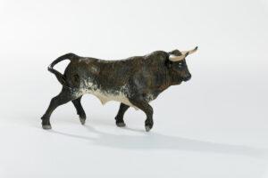 Animales de juguete | Animales de Coleccionismo | Meskebous Toro Bravo Colorao Oscuro Bragado