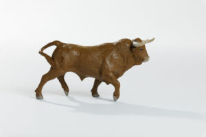 Animales de juguete | Animales de Coleccionismo | Meskebous Toro Bravo Colorado
