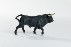 Animales de juguete | Animales de Coleccionismo | Meskebous Toro Bravo Cárdeno Oscuro