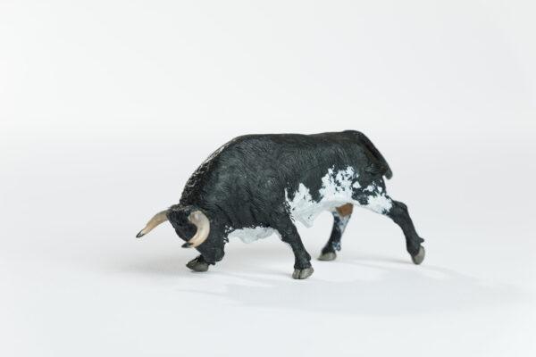 Animales de juguete | Animales de Coleccionismo | Meskebous Toro Embistiendo Burraco