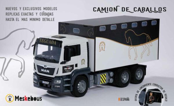CAMIONES | Meskebous NUEVO Camión de CABALLOS