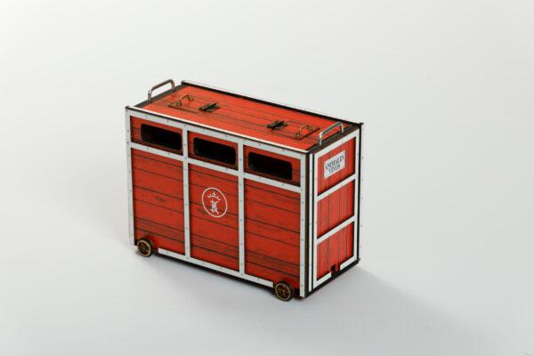 Toril o Cajón | Meskebous Toril o Cajón Rojo-Blanco