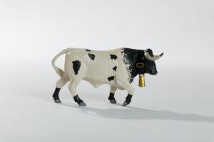 Animales de juguete | Animales de Coleccionismo | Meskebous Manso Capirote Berrendo en Negro