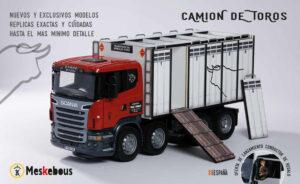 CAMIONES | Meskebous NUEVO Camión de toros puertas blancas