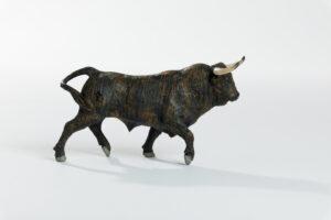 Animales de juguete | Animales de Coleccionismo | Meskebous Toro Bravo Chorreado