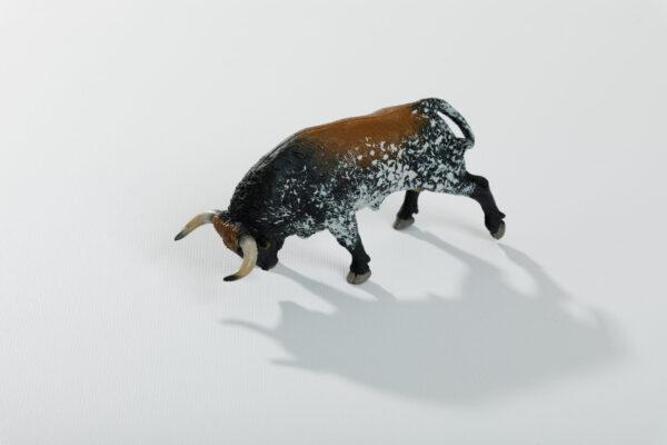 Animales de juguete | Animales de Coleccionismo | Meskebous Toro Embistiendo Sardo
