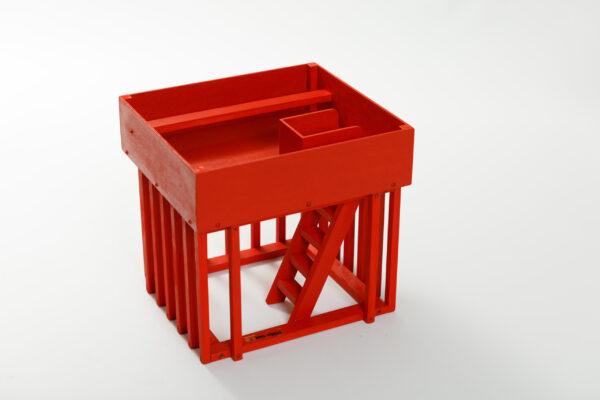 Colección Festejos Populares | Meskebous Cadafal de color Rojo