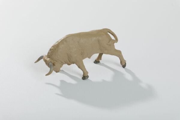 Animales de juguete | Animales de Coleccionismo | Meskebous Toro Embistiendo Jabonero