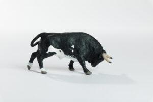 Animales de juguete | Animales de Coleccionismo | Meskebous Toro Embistiendo Ratón