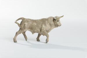 Animales de juguete | Animales de Coleccionismo | Meskebous Toro Bravo Jabonero Sucio