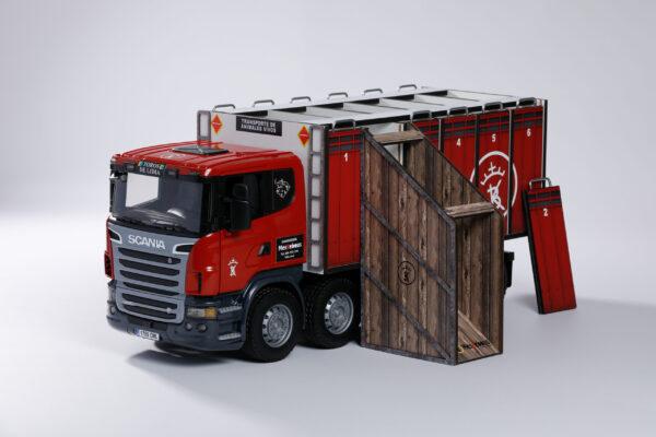 CAMIONES | Meskebous NUEVA Rampa Cerrada para Camión de toros