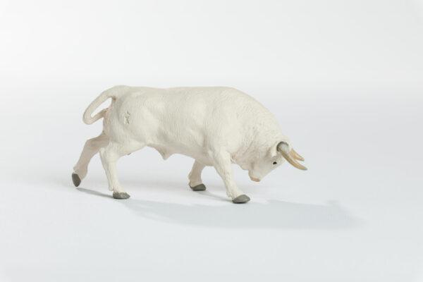 Animales de juguete | Animales de Coleccionismo | Meskebous Toro Embistiendo Albahío