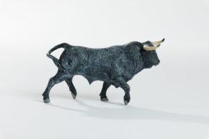 Animales de juguete | Animales de Coleccionismo | Meskebous Toro Bravo Cárdeno Claro