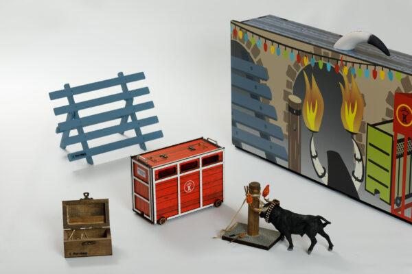 Colección Festejos Populares | Meskebous Maleta de Calle