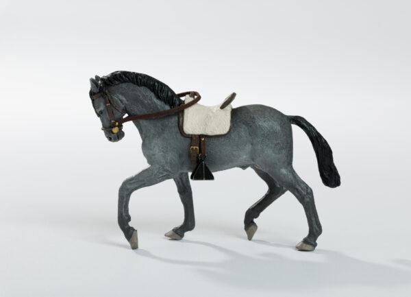 Animales de juguete | Animales de Coleccionismo | Meskebous Caballo Negro Ceniza